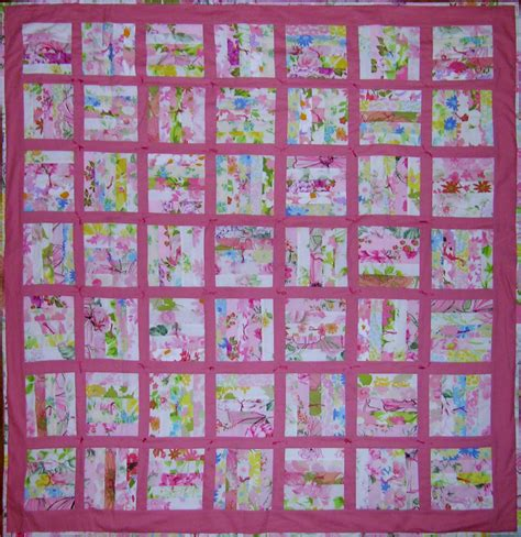 Rail Fence Baby Quilt Pattern by Rail Fence Baby Quilt Q Is For Quilter