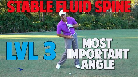 secondary axis tilt golf swing axis tilt at impact the most important angle