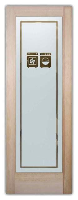 Washer Dryer Laundry Room Door Traditional Interior Interior Laundry Room Doors
