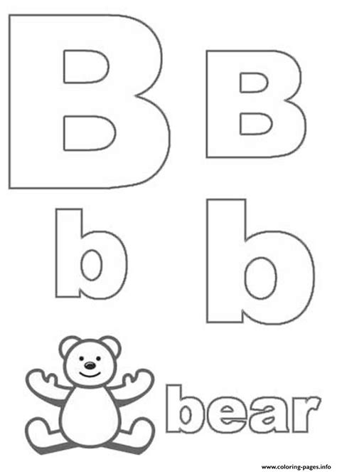 cute letter coloring pages cute bear alphabet s0515 coloring pages printable