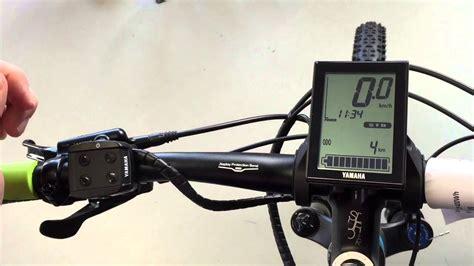 e bike beleuchtung yamaha e bike display einstellen