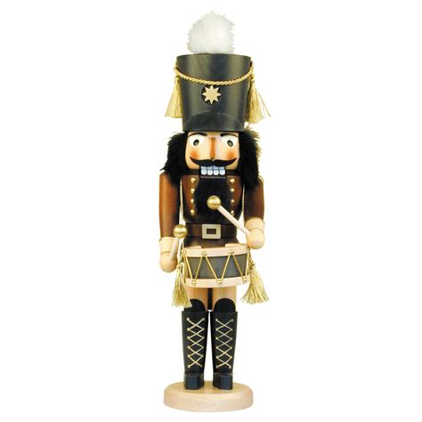 ulbricht natural drummer nutcracker nutcrackers at hayneedle
