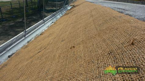 coir mesh roll 700gsm2m x 25m aussie erosion silt