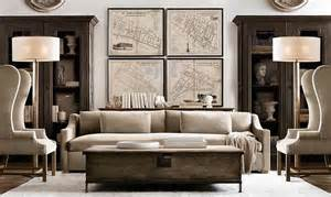 restoration hardware living rooms rooms restoration hardware home pinterest