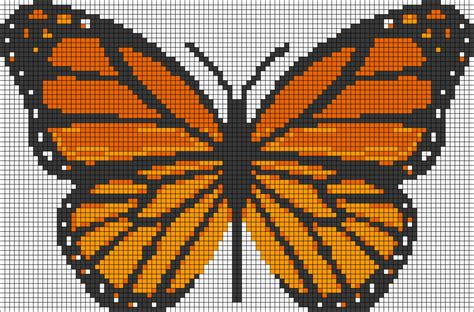 loom beading patterns free patterns animals cross stitch butterfly perler bead pattern bead loom pinterest