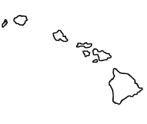 us map outline with alaska and hawaii map of united states