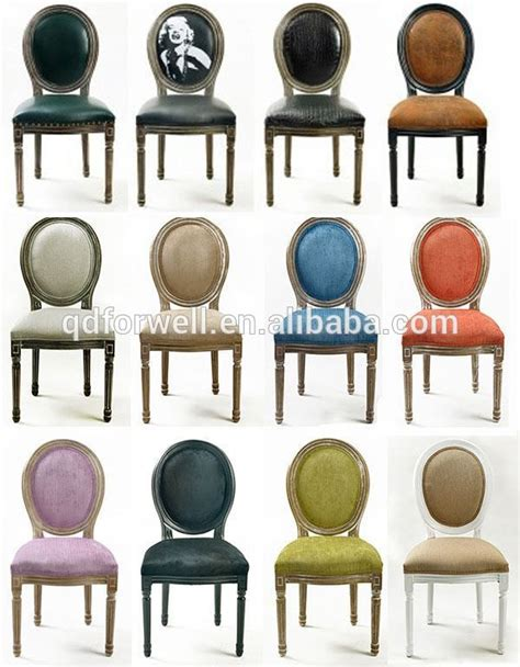 Stackable wooden louis chair industrial dining table chairs antique reproductions french style