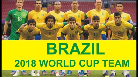brazil football team for fifa 2018 world cup