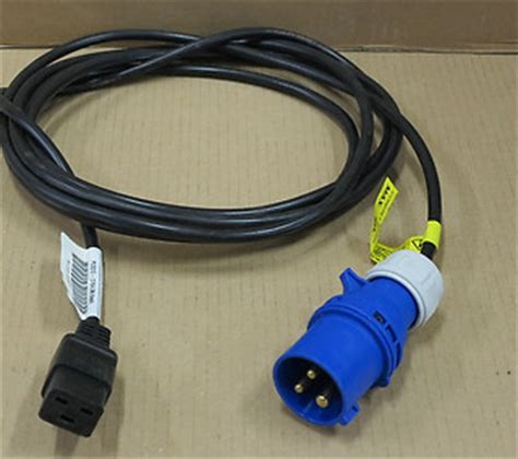 Rack Power Cable by Hp 16a 4 5m Power Distribution Pdu Iec 309 To C19 Cable