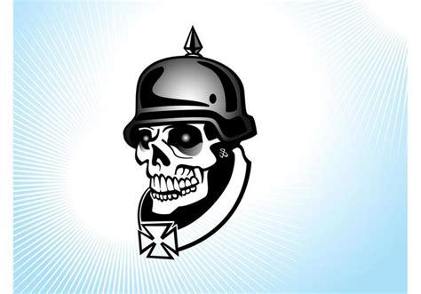 holocaust tattoo cartoon german soldier skull download free vector art stock