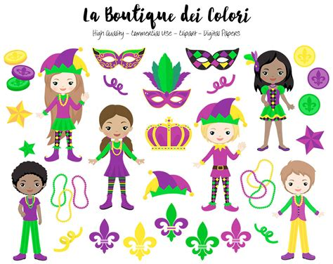 carnevale clipart mardi gras clip digital graphics png carnival
