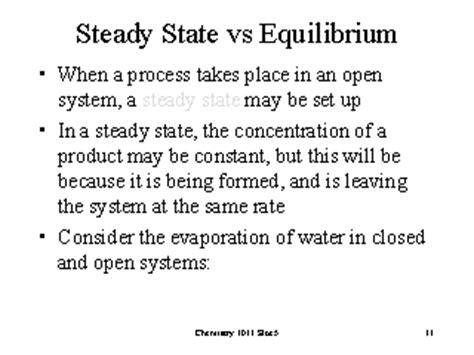 fluctuations around equilibrium and steady states in steady state vs equilibrium