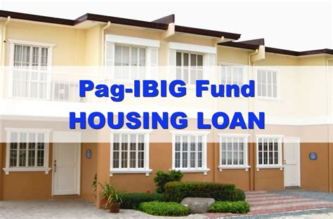pagibig housing loan calculator how to avail of pag ibig fund housing loan requirements