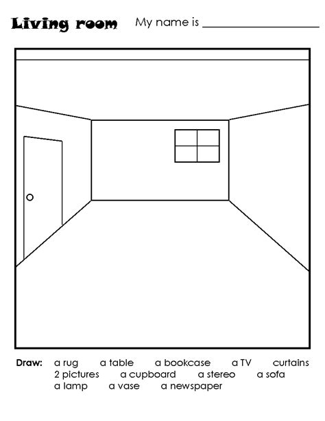 3d room drawing drawing room draw a room