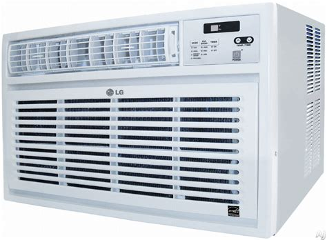 lg room air conditioner lg lw2412er 24 000 btu room air conditioner with 9 4 eer 7 8 pts hr dehumidification 24 hour
