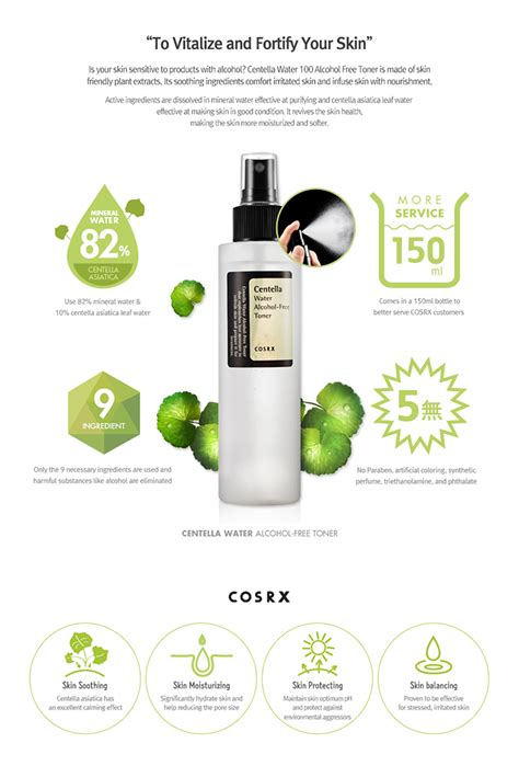 Toner Water Lightening Toner Mawar cosrx centella water free toner 150ml