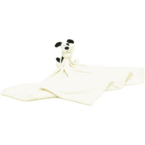 jellycat owl comforter little jellycat bashful black cream puppy comforter
