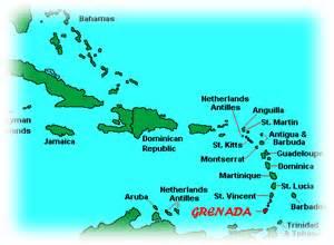 map of the caribbean islands and south america cartes des iles de la grenade maps of grenada islands