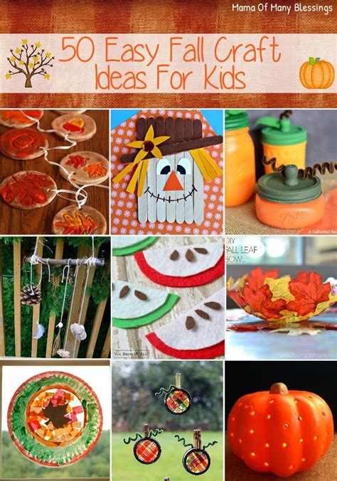 easy fall craft ideas for craft ideas for fall that are awesome and easy
