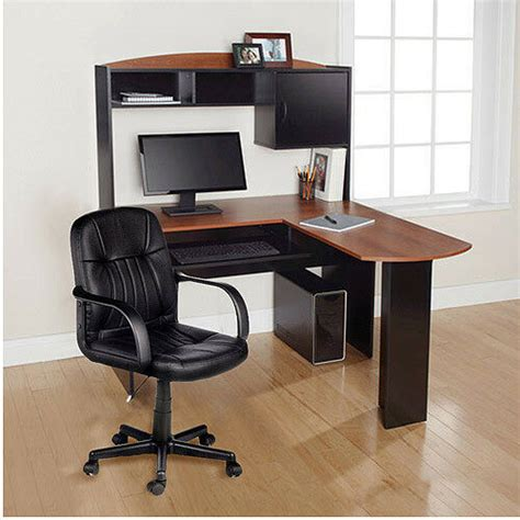 Desk Work L by Home Office L Shaped Desk W Hutch Computer Corner Work