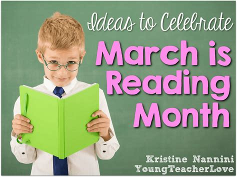 reading month themes 2011 march is reading month ideas and freebies young teacher love