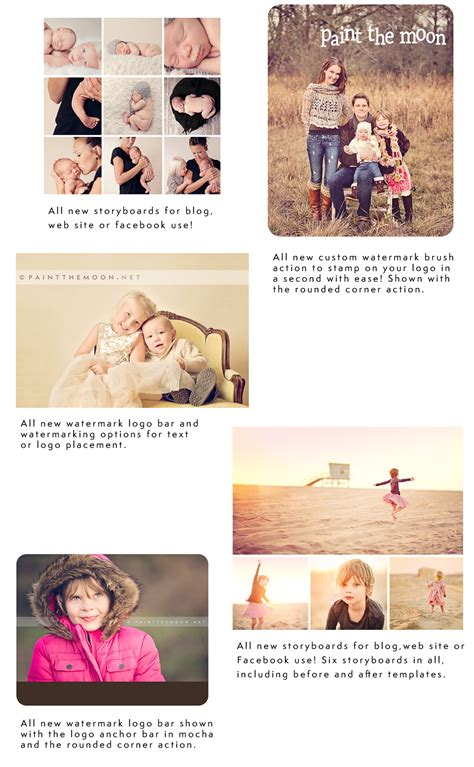 free storyboard templates for photoshop free photoshop actions watermarking storyboards and so