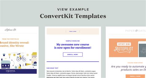 Designing Convertkit Spruce Rd Convertkit Email Templates