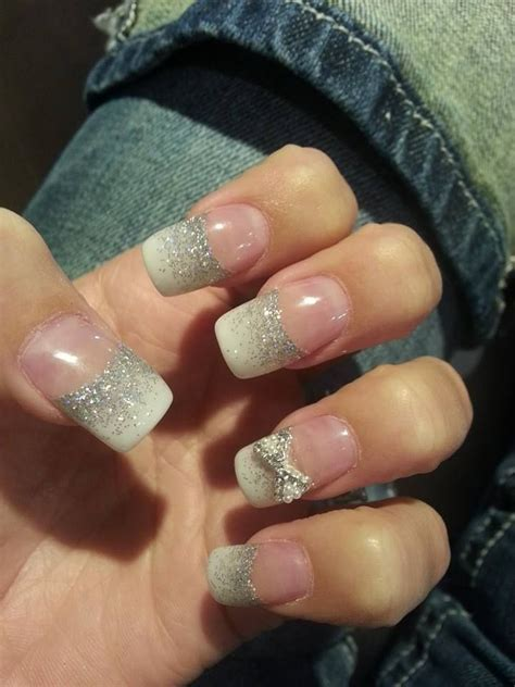 best 25 pink acrylic tips ideas on glitter nails