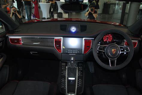 macan porsche interior porsche macan gts debuts in malaysia autoworld com my