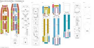 deck plans of the seas empress of the seas deck plans diagrams pictures