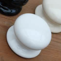white ceramic cabinet knobs