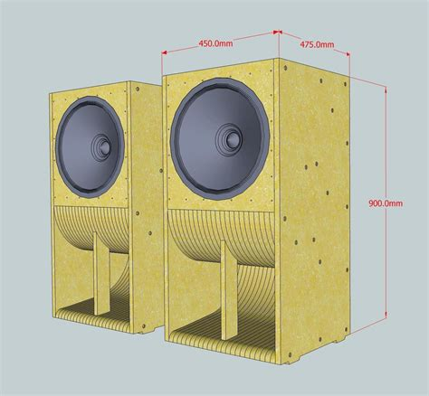speaker wave guide design  design lautsprecherboxen