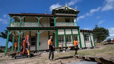central house movers historic palmerston north mansion on the move again stuff co nz