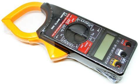 jual gadget digital multimeter tang ere untuk cek tegangan arus listrik lebih mudah
