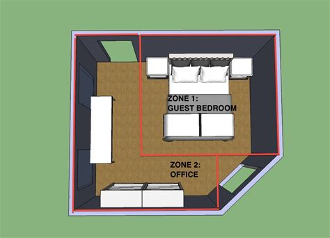 design room layout how to make an office guest bedroom work hale brock