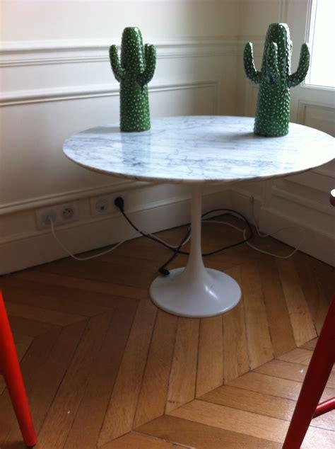 table basse saarinen knoll latelier  boutique vintage achat  vente mobilier vintage