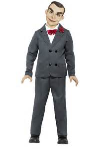 Child goosebumps slappy the dummy costume 42944 fancy dress ball