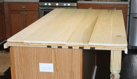 diy wood kitchen island countertop how to create faux reclaimed wood countertops tops the o jays and granite counters