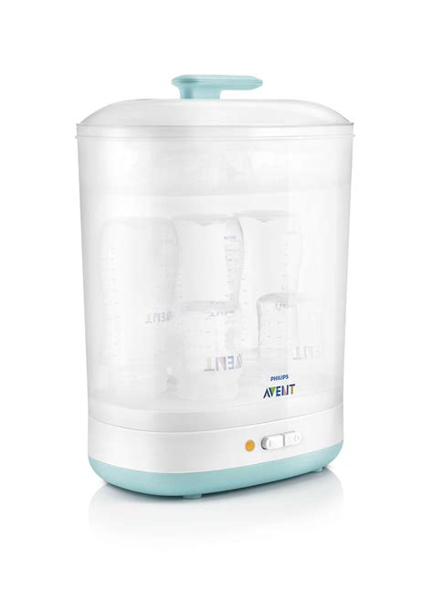 2 in 1 electric steam sterilizer scf922 01 avent
