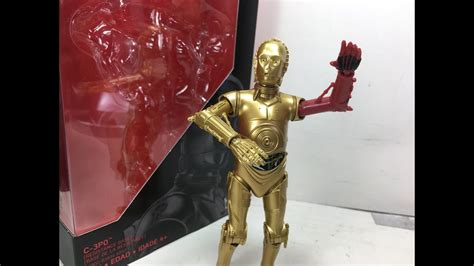 Wars Black Series C 3po wars the awakens black series 6 inch c 3po resistance base review
