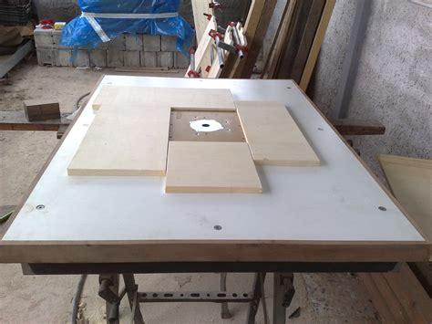 banco fresa per legno falegnameria in generale autocostruzione banco fresa