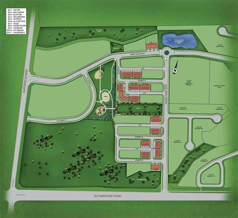 site plan fernbrook homes