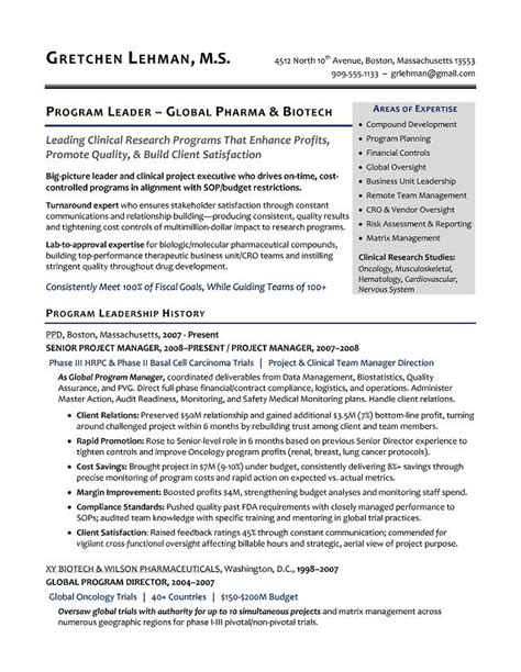 Program Management Resume Sample Program Manager Resume Samples Best Resume Sample