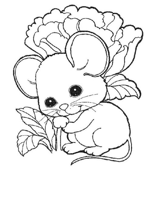 cute mouse coloring pages baby mouse coloring page coloring home