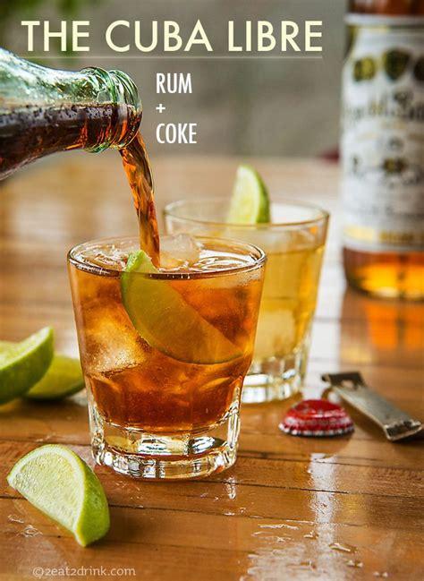 cocktail drinks names best 25 cuba libre drink ideas on pinterest non