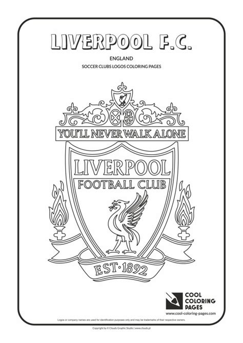 cool coloring pages liverpool fc logo coloring page
