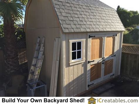 Asphalt Shed Roof by Pictures Of Gambrel Sheds Photos Of Gambrel Sheds