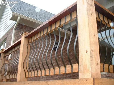 decking banister decks com deck railing designs