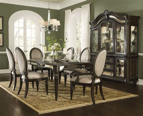 pulaski furniture dining room set reflexions leg dining set 609240 pulaski furniture