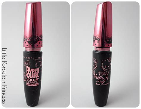 Maybelline Mascara Hypercurl Volume Express porcelain princess review maybelline hypercurl volume express mascara